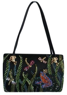 St. John Sale!!! Frog Prince Handbag Black, Green, Multi Satchel. Save 59% on the St. John Sale!!! Frog Prince Handbag Black, Green, Multi Satchel! This satchel is a top 10 member favorite on Tradesy. See how much you can save