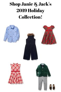 Shop Janie & Jack's 2019 Holiday Collection! | Girls dresses | Boy suits | Boys outfit | Girls outfit | Floral dress | Children's clothing | Shoes | Kids clothing and accessories | Newborn clothing  and accessories  #afflink