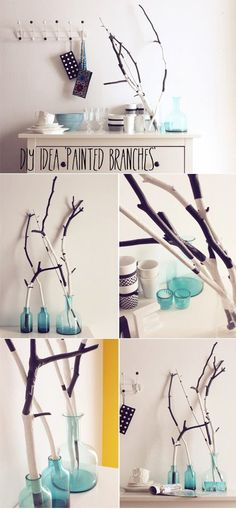 Painted branches