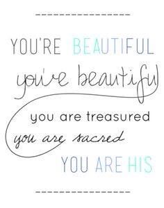 You are His❤ #overcomeroutreach #beautiful #truth