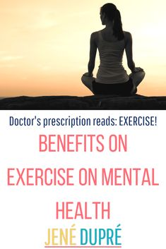 Does exercise benefit your mental health? Exercise has huge effects on mental health! Exercise is powerful and can be life changing! If you're suffering and you need help try exercise! Don't underestimate exercise for mental health!