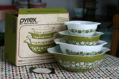 In Color Order: The Pyrex Series: Favorite Finds