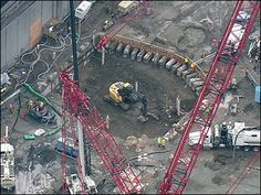 Contractors in  Seattle start digging to rescue stalled boring machine named Bertha