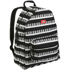 Piano keyboard ruckscack
