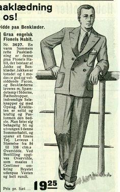 De fleste mænd havde jakkesæt på