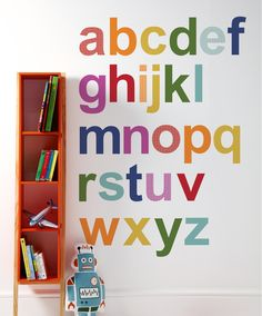 Patternology - Alphabet Wall Stickers - Geometric Print - Mamas & Papas