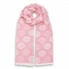 Dotted Soft Stole Rose Polka Dot Scarf, Cotton Scarf, Classic Style, Scarves, Dots, How To Make, Italy, Free Shipping, Shopping
