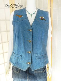 Vintage Mickey Mouse Denim Vest, Denim Sleeveless Shirt, Licensed Disney Shirt, Mickey Mouse Top, 90s Grunge Top, Denim Vest Size Large by PegsVintageShop on Etsy