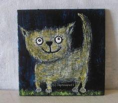 MAGST-DU-MICH-von-Herbivore11-Unikat-Katze-Katzen-Kater-Minibild-Inchie-Kunst