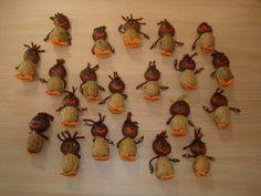 Partilhar entre Escolas: Alguns trabalhos realizados no S. Martinho Fall Crafts, Kindergarten, Halloween, Blog, Education, Hands On Activities, Fall Decorating, Sint Maarten, Crafts