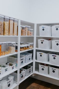 Home Decor Kitchen Three inexpensive items to organize your pantry & groceries that do good - Mint Arrow.Home Decor Kitchen Three inexpensive items to organize your pantry & groceries that do good - Mint Arrow Kitchen Organization Pantry, Home Organisation, Kitchen Storage, Organized Pantry, Organizing Ideas, Pantry Storage Containers, Pantry Ideas, Storage Room, Ikea Pantry Storage