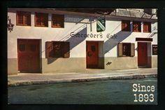 Old exterior of Schroeder's - 80's