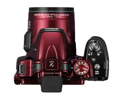 Nikon COOLPIX P520 in hot Red