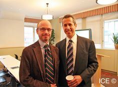 Leading New York City Restaurateur Danny Meyer has been another guest lecturer at ICE.