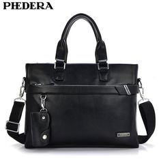 28.51$  Buy now - http://aliw1a.shopchina.info/1/go.php?t=32646948989 - PHEHDERA Brand 2017 Hot Men Leather Briefcase Shoulder Bags Classic Black Brown Male Business Handbag Vintage Computer Laptop 28.51$ #aliexpress