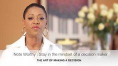 What it takes - Make A Decision