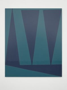 Nightime II. Gary Hume. - 2014  White Cube at FIAC, Paris