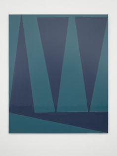 Nightime II. Gary Hume. - 2014  White Cube at FIAC, Paris