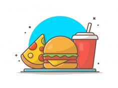 Burger Icon, Fruit Sketch, Reference Photos For Artists, Sketch Background, Piece Of Pizza, Pizza Logo, Sketchbook Drawings, Art Drawings, Chalkboard Background