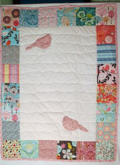 Quilt.  Custom designed for you.  Quilt is 45 x by NurseriesbyMimi, $150.00