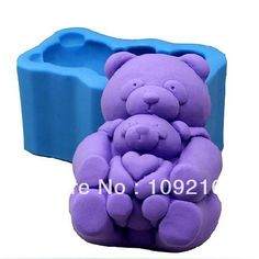 Aliexpress.com : Buy Free shipping!!!1pcs Parent child Bear (R0856) Silicone Handmade Soap Mold Crafts DIY Mold from Reliable Silicone Soap Mold suppliers on Silicone DIY Mold and  Home Supplies Store $15.58