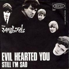 The Yardbirds, Evil Hearted You Single, Germany 1966 via