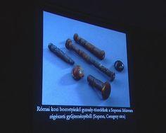 """ancient Roman amber distaffs from Hungary from http://sopszem.sopron.hu/sopszem/2012-LXVI-1.pdf (Search for """"Borostyán guzsalyok"""") other examples here: http://www.academia.edu/10910199/Z%C5%82oty_wiek_Czarn%C3%B3wko_w_okresie_wp%C5%82yw%C3%B3w_rzymskich_i_w_okresie_w%C4%99dr%C3%B3wek_lud%C3%B3w_Golden_Age_Czan%C3%B3wko_during_the_Roman_Period_and_the_Migration_Period"""