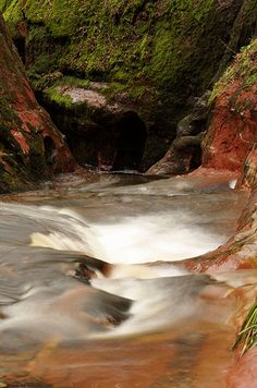 Top End Of Gorge @ Finnich Glen, Scotland