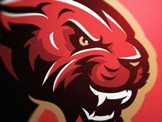 Panther designed by KHISNEN 💀. Connect with them on Dribbble; the global community for designers and creative professionals. Pet Logo, Monogram Logo, Vector Logos, American Logo, Panther Logo, Esports Logo, Sports Team Logos, Mascot Design, Logo Concept