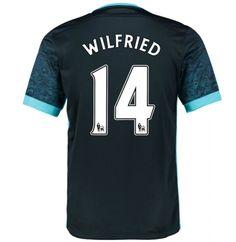 anchester City Jersey 2015/16 Away Soccer Shirt #14 Wilfried