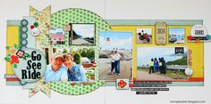 Small Town Scrapbooker: Go See Ride {Guest Designer @ Stick it Down} Crate Paper Storyteller