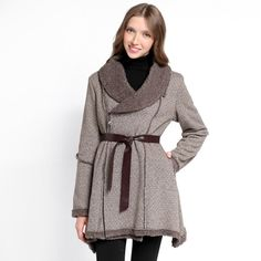 Aw 2014, Fall Winter, Autumn, Mountain Hiking, Belted Coat, Beige, My Style, Pattern, Clothes