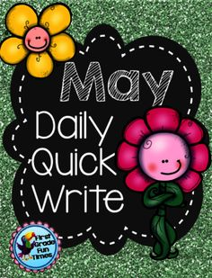 May Quick Writes! Enter for your chance to win 1 of 5.  Quick Writes - May (28 pages) from First Grade Fun Times on TeachersNotebook.com (Ends on on 5-15-2015)  May Quick Writes