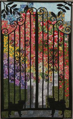 Gate quilt. Inspiration