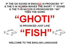 English language is so complicated