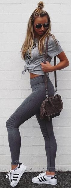 Grey on Grey @roressclothes closet ideas #women fashion outfit #clothing style apparel