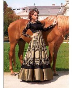 Latest Fancy Designer Gown  http://www.kmozi.com/latest-fancy-designer-gown-890