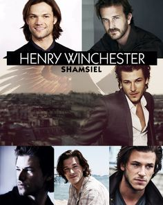 Supernatural AU: Second Gen Winchesters Henry Winchester Jr... I don't support a relationship between Sam and Gabriel, but I find this very hot...