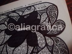 """#KoanPages #ink #book """"Controfase"""" http://aliagrafica.altervista.org/shop/koan-pages/product/8-variazione"""