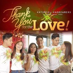 "This is Daniel Padilla and Kathryn Bernardo featured on the recording and taping of the 2015 ABS-CBN Christmas Station ID, ""Thank You for the Love!"" :-) This is one of my favourite Kapamilya love teams ever. #ABSCBNChristmasStationID #ThankYoufortheLove"