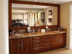 Granite Bathroom Countertops Beige Granite Bathroom Countertop