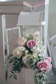 WedLuxe– Pretty-in-Pink Garden Wedding |  Follow @WedLuxe for more wedding inspiration!