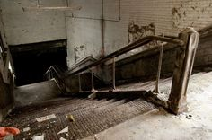 Manchester's Abandoned Mayfield Railway Station