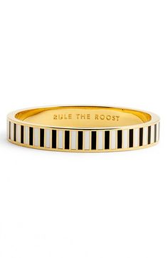 kate spade new york 'idiom - go all out' hinged enamel bangle available at #Nordstrom