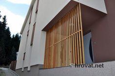 Mizarstvo Hrovat - Wooden facade - Lesena fasada Stanežiče http://www.hrovat.net/izdelki/lesene-fasade/lesena-fasada-stanezice/