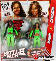 The Funkadactyls (Cameron & Naomi) - WWE Battle Packs 24 | Ringside Collectibles