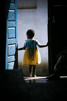 Change is walking through an open door