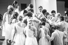 Beautiful group prayer.