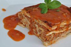 Pieczarkowa lasagna mięsna! Zdrowo i smacznie ;)