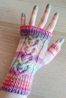 Ravelry: Love Bug Mittens pattern by Cassandra Curtis